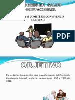 Comité de Convivencia 2012