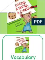 If You Give a Mouse a Cookie Vocabulary PPP