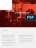 Create in Residence // Book of Graphic Standards