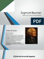 Presentacion de vivir y morir en la frontera planetaria de Bauman