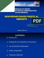 Presentacion Responsabilidades Del Medio Ambiente