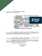 APRESENTAÇÃO ANTECIPADA DE CHEQUE DANOS MORAIS IMPROCEDENCIA.pdf