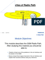 Radio Path Channels Bursts