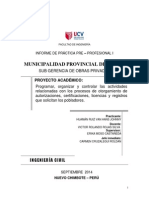 INFORME PRACTICAS PPP-I