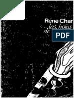 CHAR, R - Hojas de Hipnos. Colección Visor de Poesía (Volumen 32) - Visor, Madrid, 1973-2