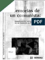 René Avilés Fabila-Memorias de Un Comunista_ Maquinuscrito Encontrado en Un Basurero en Perisur-Gernika (1991)