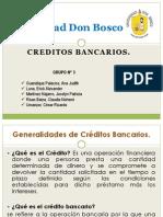 Credito Bancarios.