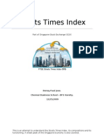 Straits Times Index - An Overview