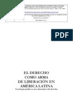 TORRE RANGEL El derecho como arma de liberación en America Latina