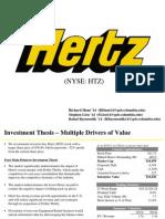 Investment Idea - Hertz Forward