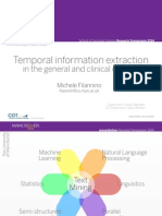 Temporal Information Extraction in the general and clinical domain