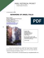 Angel Falls Renamed