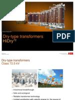 Dry HiDry72 en External transformator