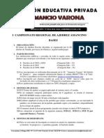 Bases Concurso Ajedrez Tuman