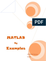 MATLAB by Examples