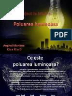 Poluarea luminoasa