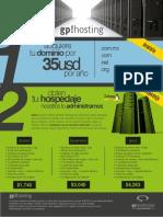 Paquetes WEB de GP Publicidad