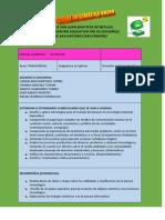 Plan Proyecto Formativo 1