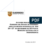 Informe Iguala
