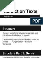 nonfiction structure