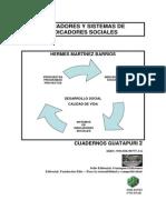 Indicadores y Sistemas de Indicadores Sociales - Hermes Martinez Barrios - Guatapuri