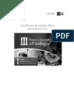 III Simposio Nacional de Virologia 2008 Salud UIS