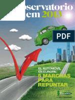Cetelem Observatorio Europeo Auto2013