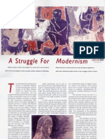 A Struggle for India Modernism.asian Art News. REF Subho Tagore