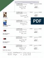 Lista de Livros 7º Ano