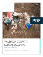 Analytical Report Illegal Dumping in Valencia County, NM