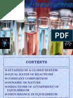Characterstics of chemical equilibrium