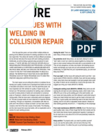 The Issues With Welding in Collision Repair