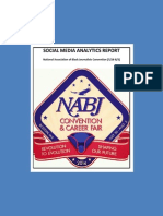 Nabj Social Media Analytics Report