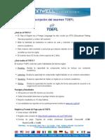 Descripción TOEFL (Casa Matriz).doc