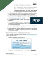 Manual de Correo Institucional Universidad Montrer