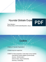 Hyundai Globale Expansion