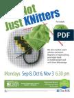 Knot Just Knitter s Flyer 14