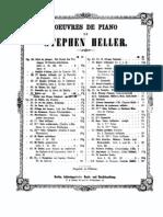 Heller - Op 32 - Bolero sur un Motif de la Juive de Halevy