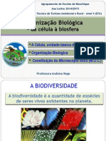 Organização Biológica - Da Célula à Biosfera