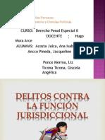 delito contra la administracion juridiccional