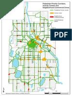 Pedestrian Priorities Map