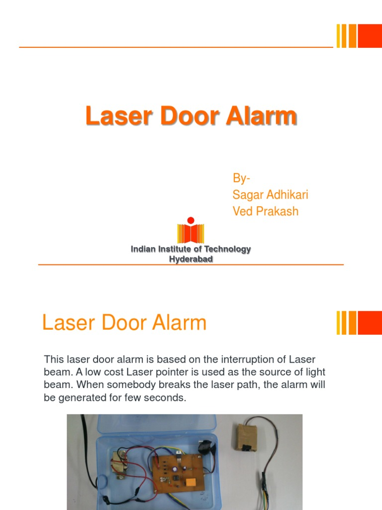 Laser Door Alarm Relay Inductor