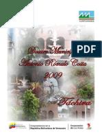Dossier 2009 Antonio Romulo Costa