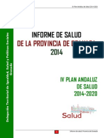 Informe de Salud de la Provincia de Granada 2014