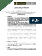 BASES CONVOCATORIA N° 003- EVALUADORES EXTERNOS (Oficial)