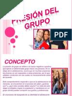 Presion Del Grupo