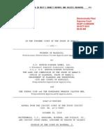 Friends of Makakilo v. D.R. Horton-Schuler Homes, LLC, No. SCAP-13-0002408 (Haw. Oct. 3-, 2014)