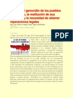 Carlos E. Lippo_Acerca Del Genocidio de Los Pueblos Originarios de Latinoamérica
