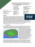 Structural Design of the New Football Stadium of Panathinaikos in Votanikos