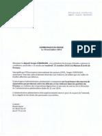 Cqué Député Sergio Coronado Visite Parloirs Fresnes
